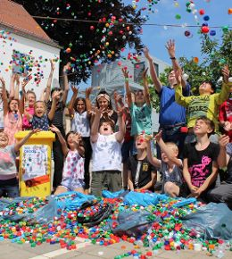 50.000 Deckel gegen Kinderlähmung