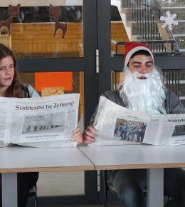 Weihnachtsfeier der Mittelschule