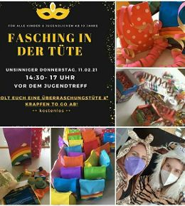 Fasching in der Tüte