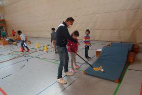 Minigolf im Sportunterricht
