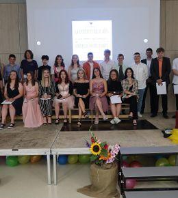 Abschlussfeier der Entlassschüler